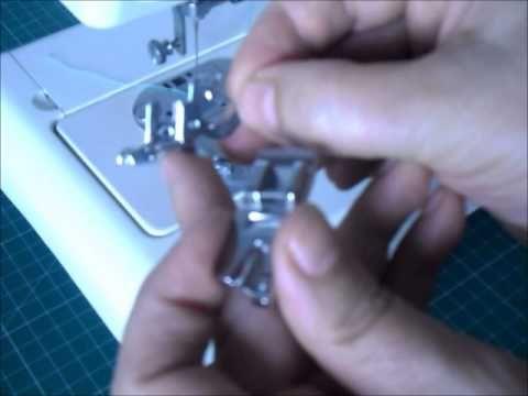 Videotutorial: cómo usar el prensatelas para dobladillos   Manualidades