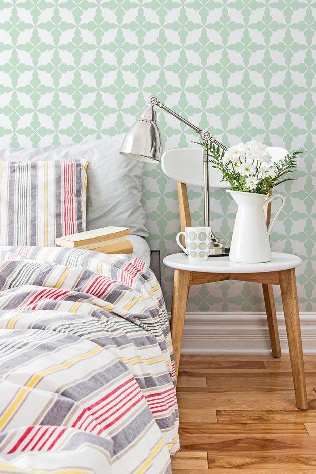 Skandinavische Tapete / wallpaper , scandic design, home decor made by imielsky via DaWanda.com