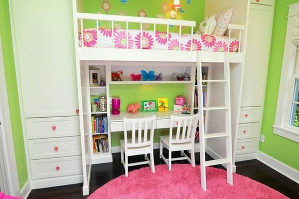 Bett Design- 24 Super Ideen für Kinderzimmer Innenarchitektur ...
