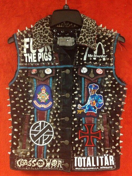 Jackets Heavy Hd Punk ~ Jacket Metal Chalecos TYUHSx
