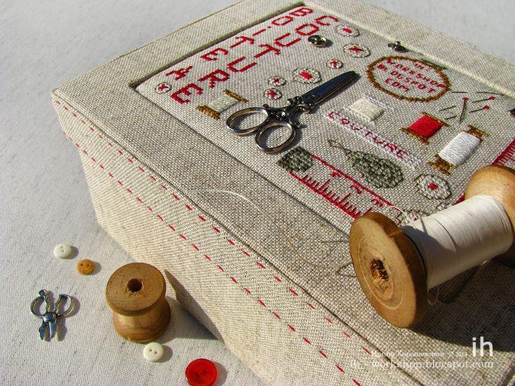 851 best punto de cruz costura images on pinterest for Boite a couture casa