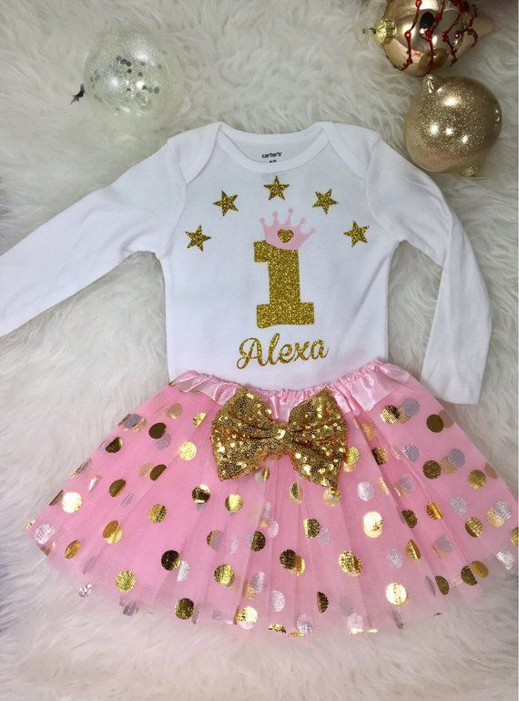 83e678991 1st Birthday Girl Outfit
