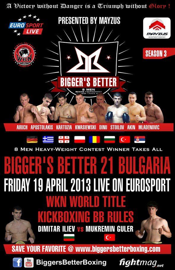 19.04.2013 Bigger`s Better 21 - Ergebnisse - Results - Konstantin Airich siegreich