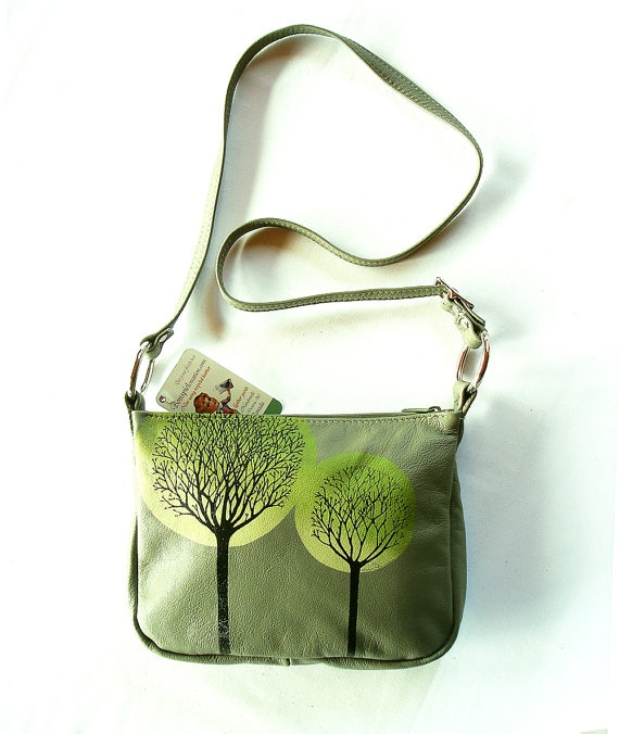 Trees Bag by bonspielcreation on Etsy, $98.00