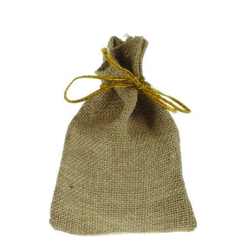 Textilpåsar - Jute - Jutesäck med knytsnöre 10 x 14 cm - 24 st - 219kr. Skapamer.se, Pyssel, hobby och konstnärsmaterial på nätet!