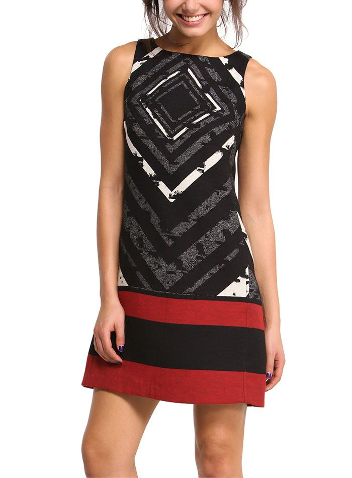 DESIGUAL Dress ELECTRIC LOVE - 124,00€ : Fashion Monicapecado