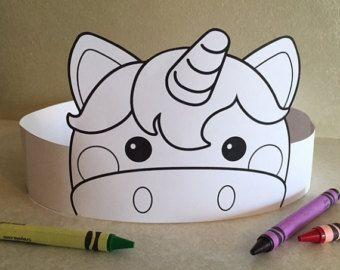 León corona de papel de COLOR su propia  por PutACrownOnIt en Etsy