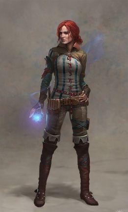 Triss Merigold, personnage fort sympatique dans The Witcher 2 Assassins of Kings Test sur http://www.les-rpg.com/the-witcher-2-assassins-of-kings-sur-xbox-360-le-17-avril-2012/