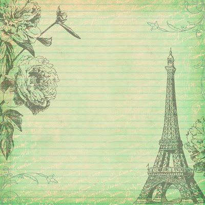 Láminas y láminas: Paris shabby