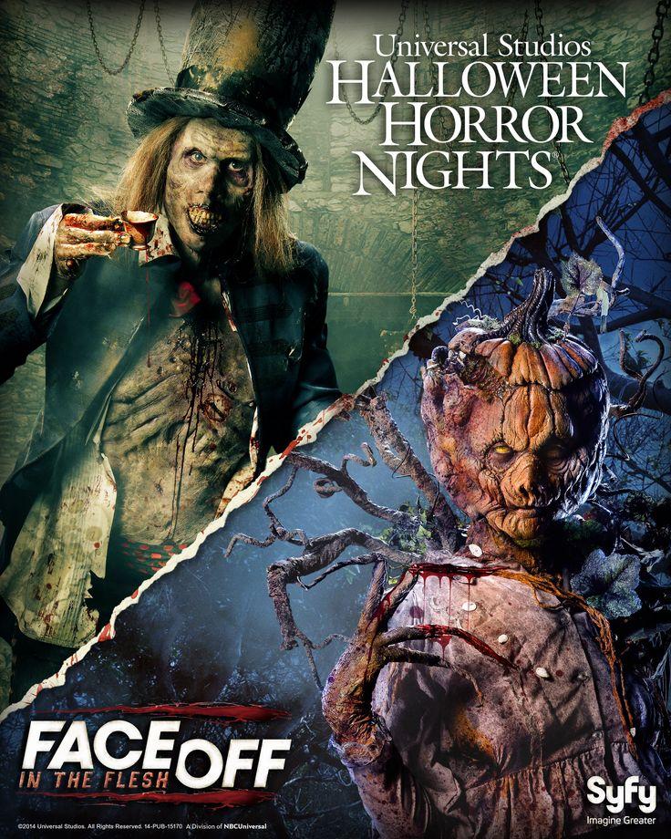 Halloween Horror Night Face Off 2014