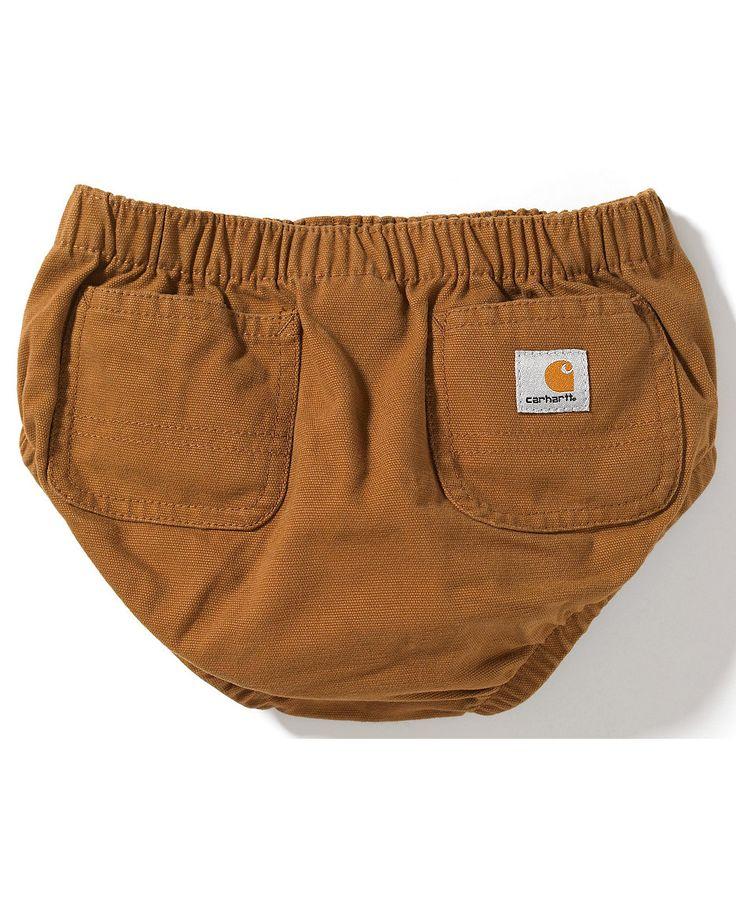 Carhartt Infants' Diaper Cover - haha yesssss!