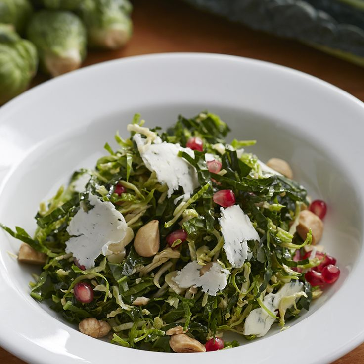 Pomegranate Brussels Sprouts Salad by Giada De Laurentiis | Giadaweekly.com
