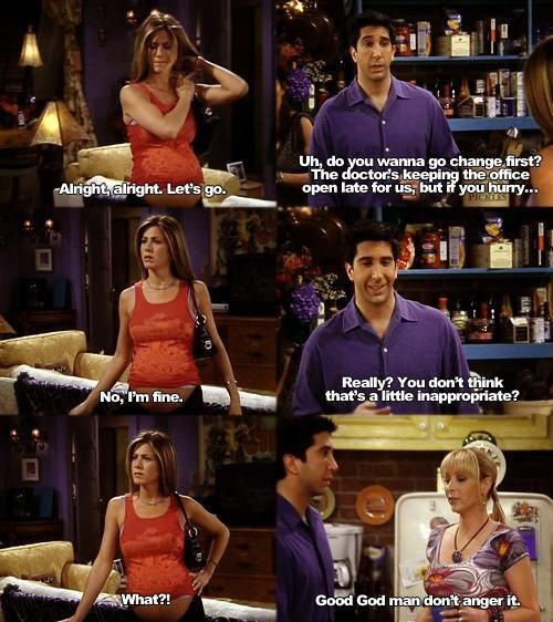 I love Rachel, Ross, and Phoebe!