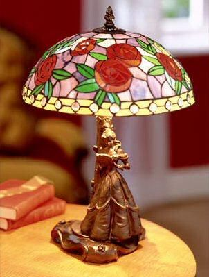 - Glassmasters Belle Stained-Glass Lamp - Disney Collectibles Database