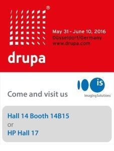 ISAG on HP Booth at drupa 2016