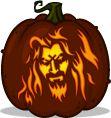 Looks like Rob Zombie-  Pumpkin Pattern for Brock