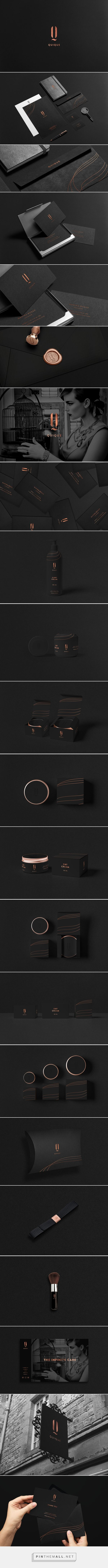 QUIQUE cosmetics Branding on Behance