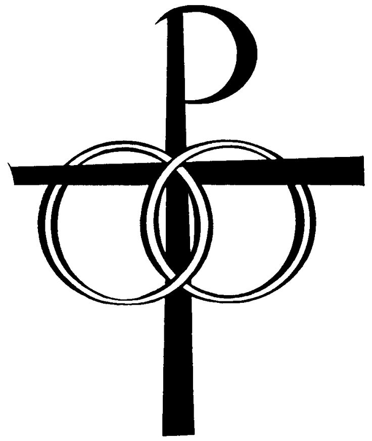 Catholic cross clip art wedding