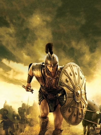 Brad Pitt is perfectly Achilles Troy. 2007