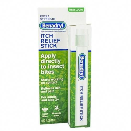 Get extra strength itch relief from BENADRYL® and protect