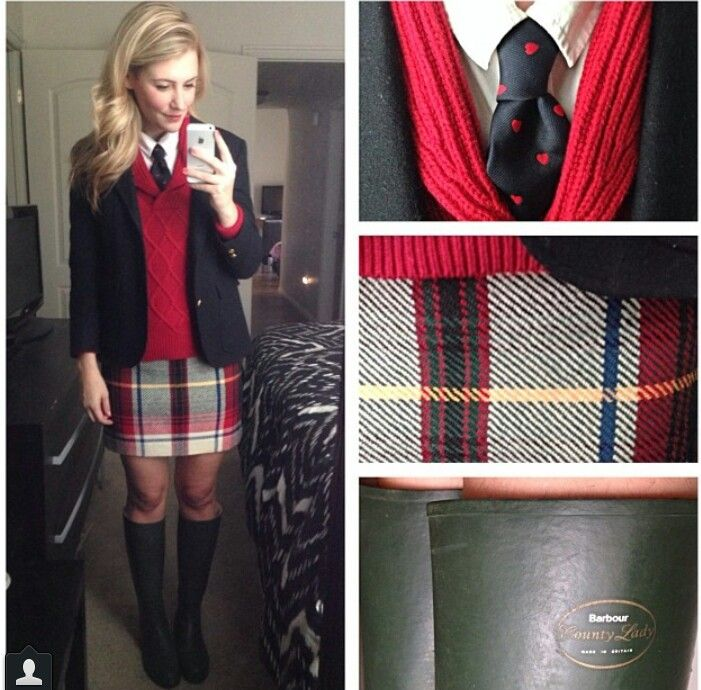 I've always wanted to go to a private school just to wear uniforms like these. I…
