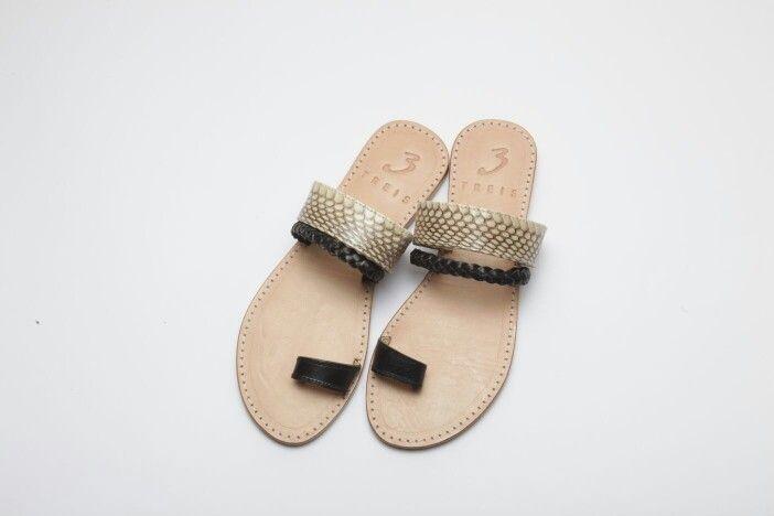 anastasia natural (handmade leather sandal )