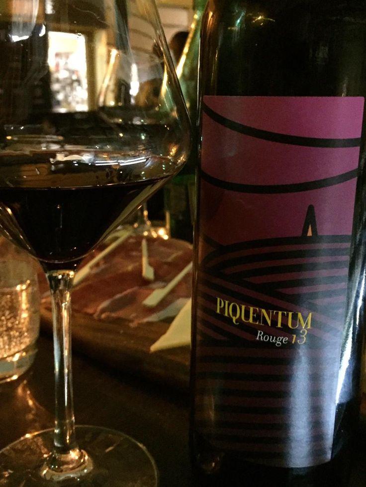 Piquentum Rouge 2013 (100% Teran) from Istria Croatia. #wine #winelover #tips #vino #WineWednesday #winelovers #Italy