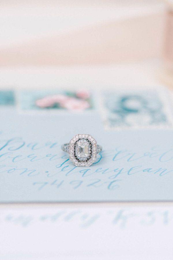 Vintage Engagement Ring Photography Elizabeth Fogarty