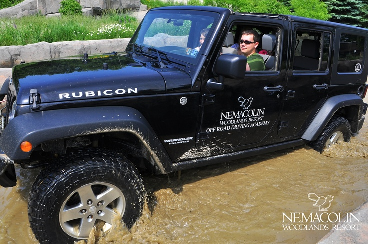 Take to the course at Nemacolin's Jeep Off-Road Driving Academy.
