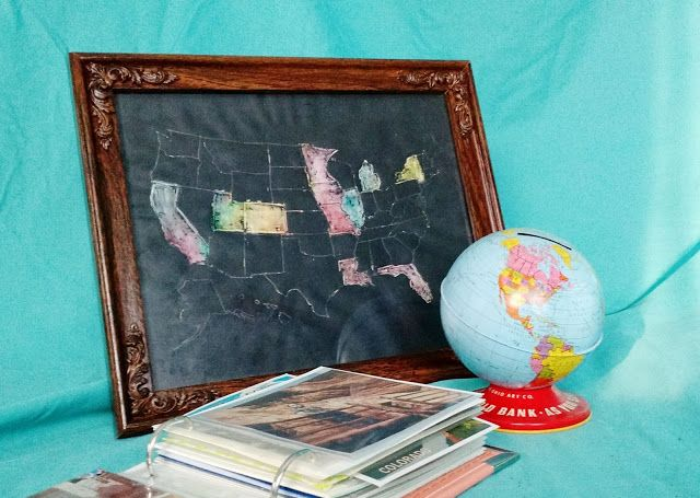 Hello Wild Things: DIY Scratch Off Map