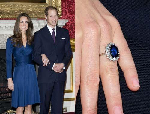 garrard princess dianas engagement ring now owned by kate middleton - Princess Kate Wedding Ring