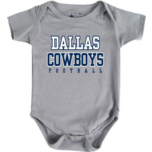 dallas cowboys baby clothes | Dallas Cowboys Infant Practice Tee Romper