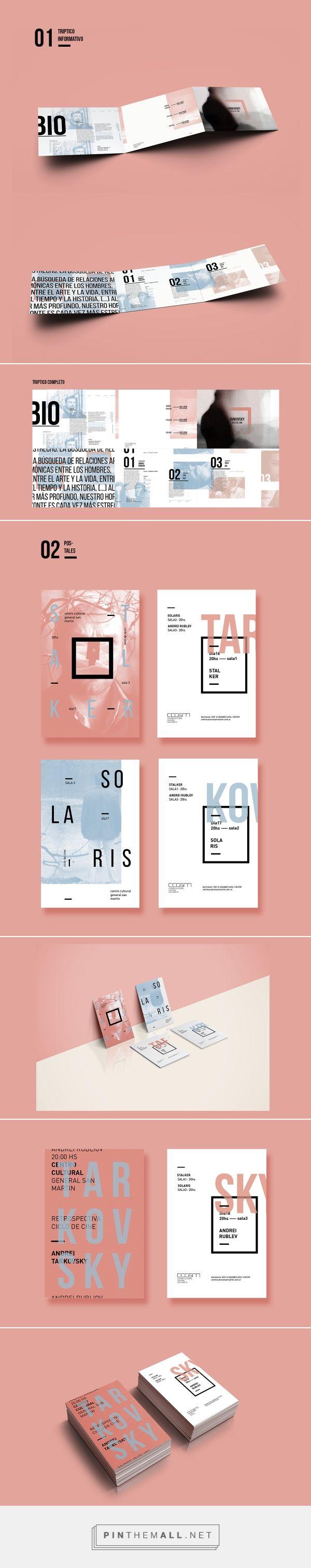 Ciclo de Cine Film Series Branding by Nahuel Mercado   Fivestar Branding Agency – Design and Branding Agency & Inspiration Gallery