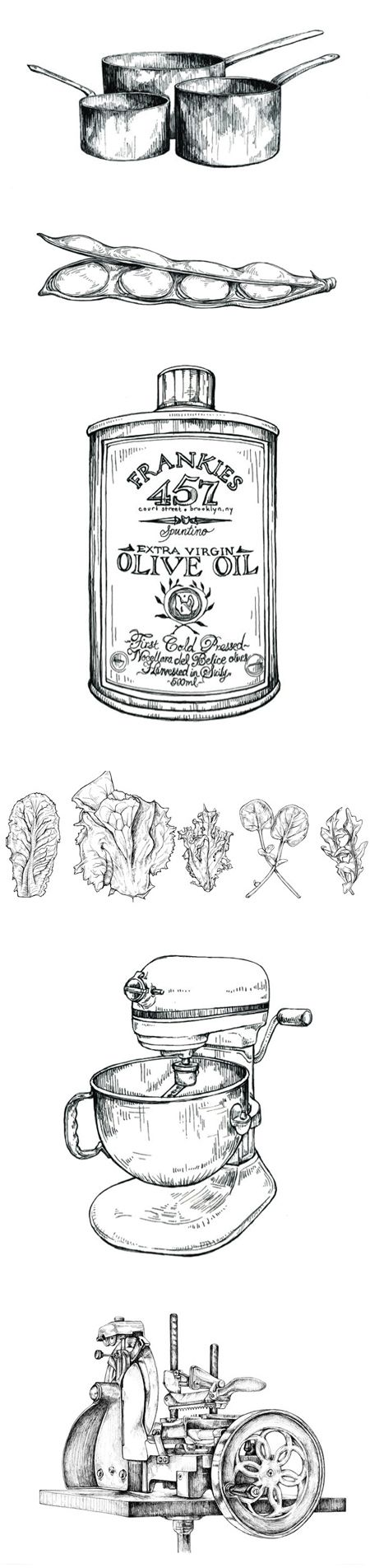 Recently I have become obsessed with food illustrations. I think I shall have to start drawing my own.