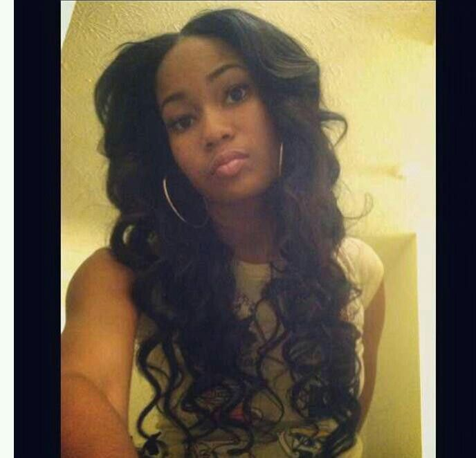 Long Middle Part Sew in Weave