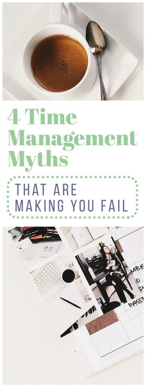 Why do we hang onto such unproductive time management myths when they cause so many people to struggle? Learn some of the most common myths that exist, along with ways to reframe your thinking for improved productivity. via @LittleCoffeeFox