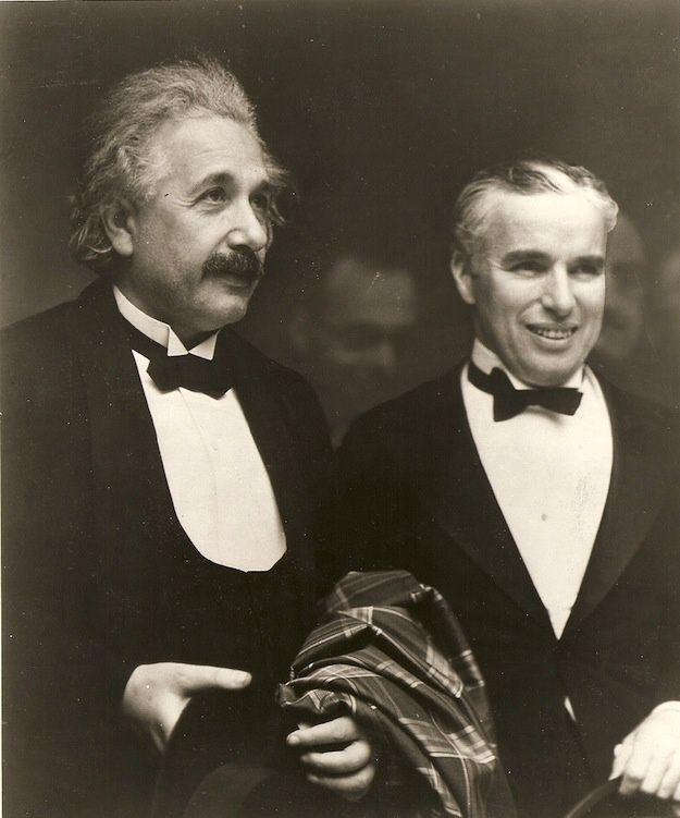 Albert Einstein & Charlie Chaplin
