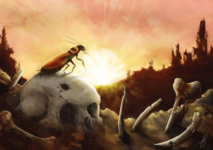 """MADKaktus art blog: """"last survivor"""""""