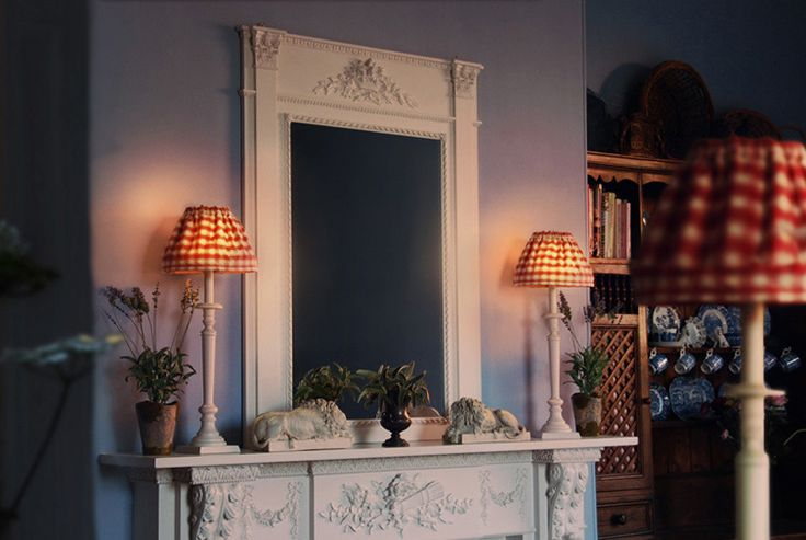 French trumeau style mirrors in a wide range of colours and finishes