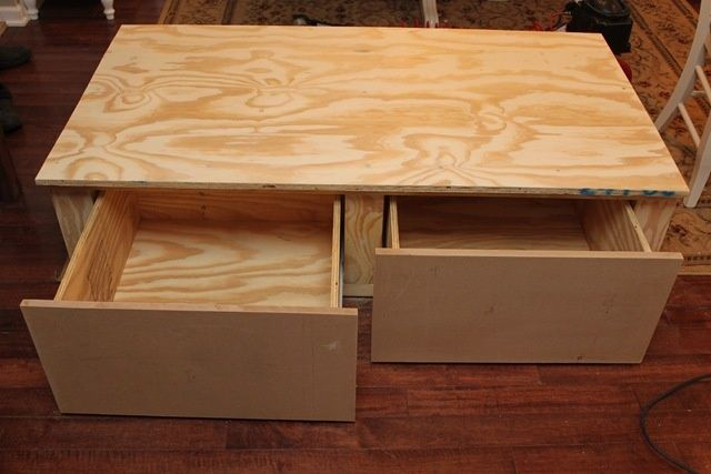 Pedestal Drawers Tutorial For Under Laundry Or Bench