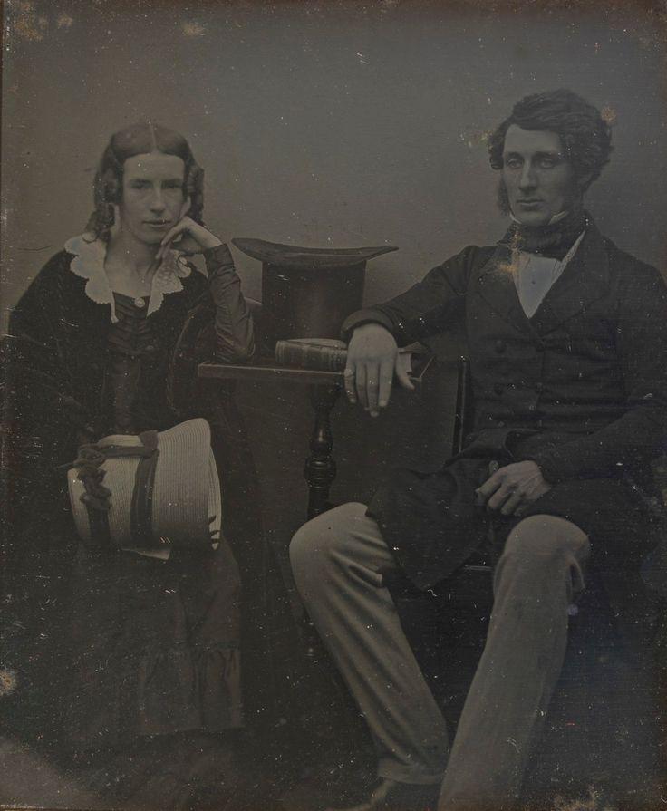 Thomas Sutcliffe Mort and his wife Theresa, c. 1847