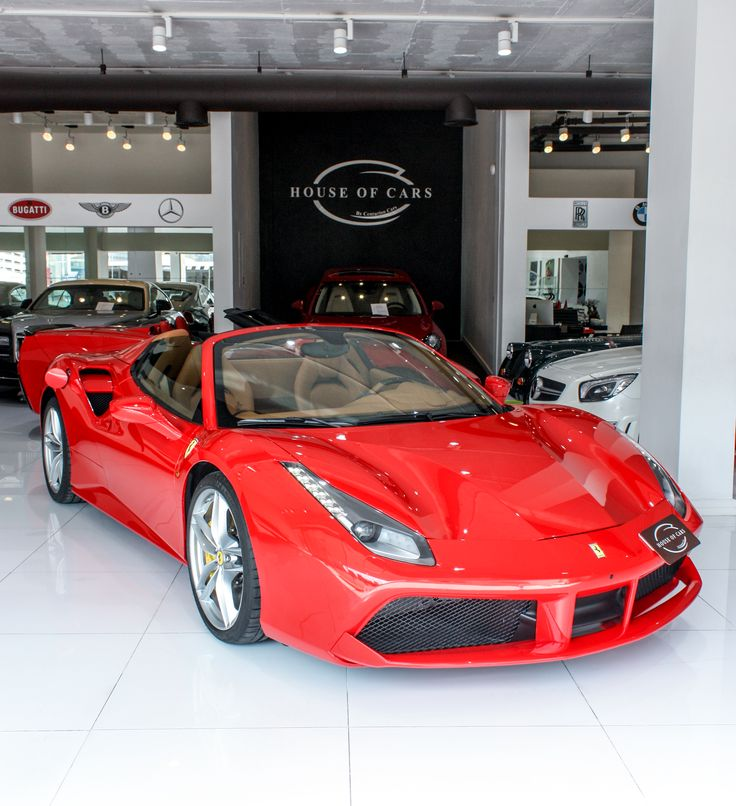 House Of Cars Dubai / Ferrari 488 Spider 2017