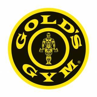 Gold's Gym #logo. This gym is amazing. You have an array of choices when selecting classes, a protein shake area, and gym equipment for people who do not like classes.