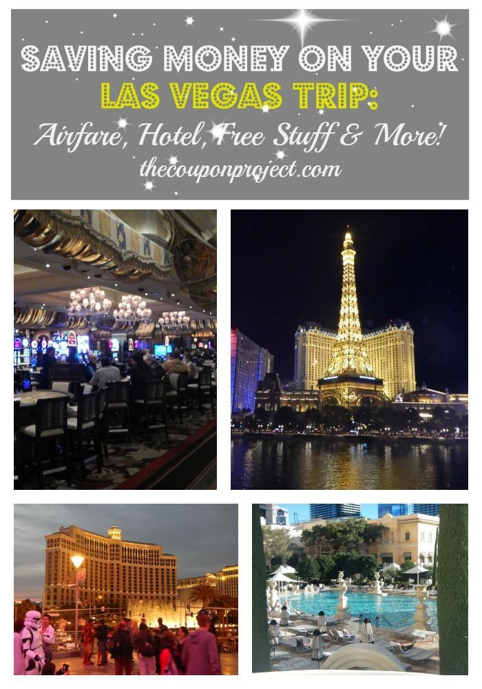 How to Save on your Las Vegas Trip via TheCouponProject.com