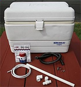 Learn how to build your own livewell cooler…
