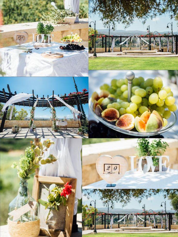 Wedding at Polis municipality garden