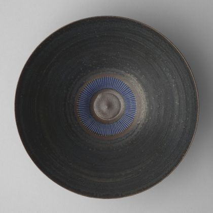 blueberrymodern:  Lucie Rie. Bowl. c. 1980. MoMA