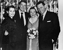 "March 4,1952 Ronald Reagan and Nancy Davis wed:  ""You know, if Nancy hadn't come along when she did, I would have lost my soul."" – Ronald Reagan"