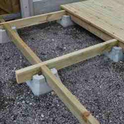 Wrekin Concrete Products Decking Block