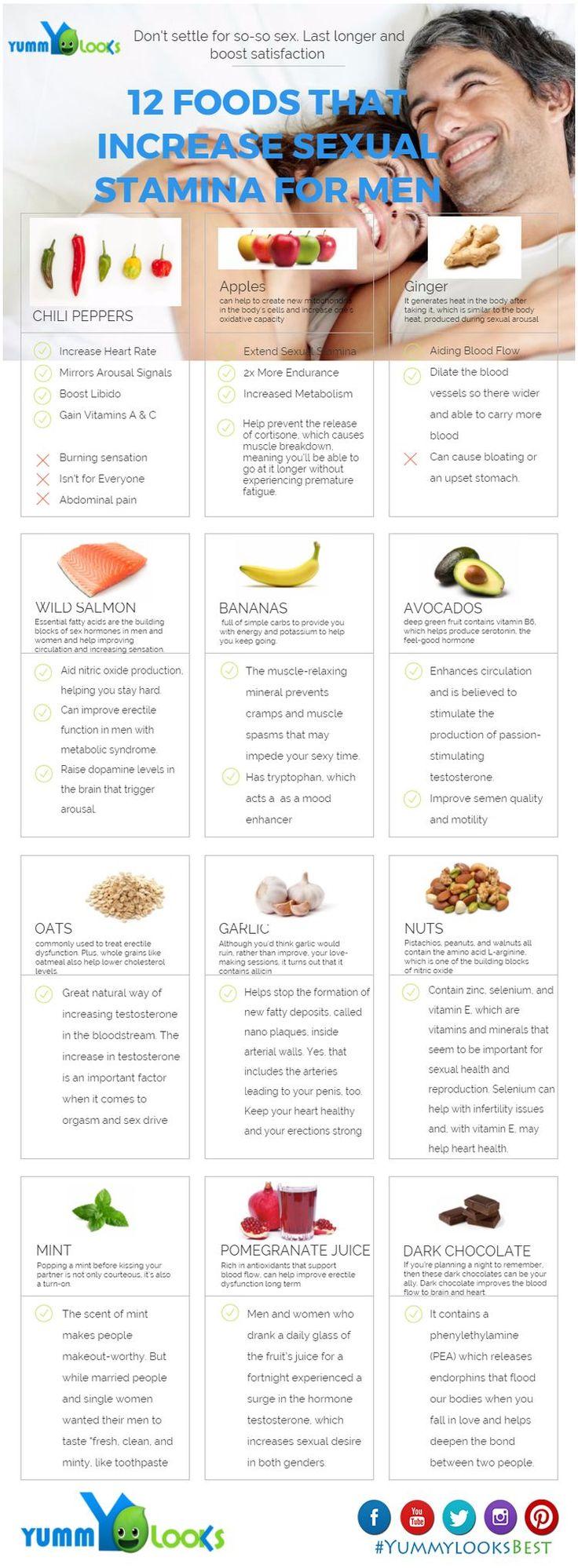 12 FOODS THAT INCREASE SEXUAL STAMINA FOR MEN #vitaminC #animals #tagforlikes